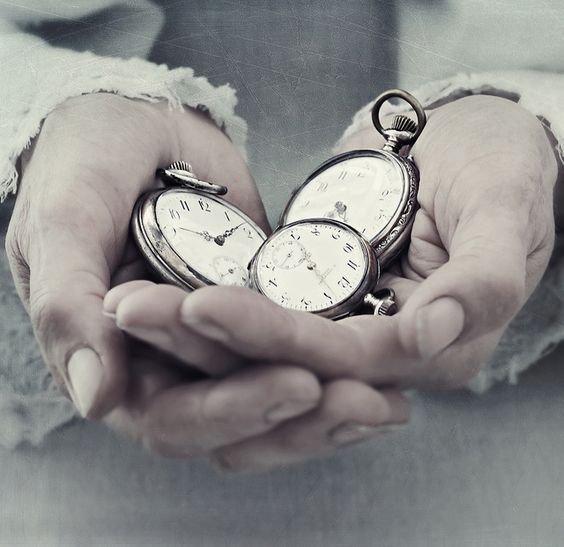 mãos do tempo
